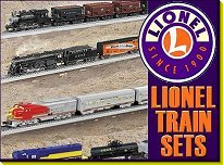 Click to see Lionel train sets with traditional railroad names.